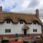 New Build House Re-Thatch