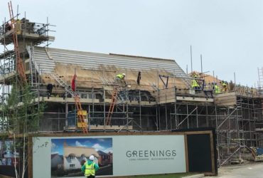 New Build Thatching – Long Crendon, Oxford