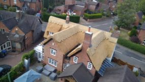 Incredible Drone Views of a Re-Thatch from 2018