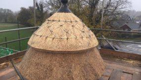 Cupola on Uppingham School Cricket Pavilion